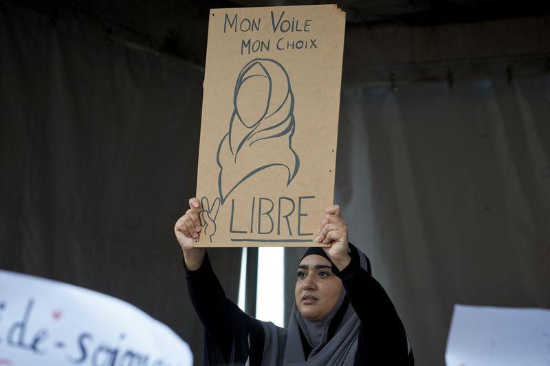 Rassemblement contre l'islamophobie, Toulouse, 27 octobre 2019. (c) Alain Pitton/ NurPhoto/AFP