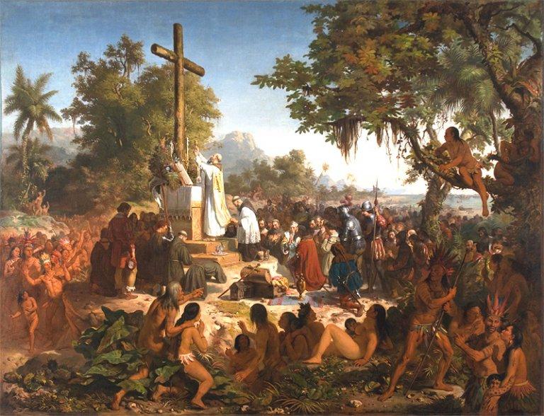 Brésil: «la première messe» ou la naissance d'une nation
