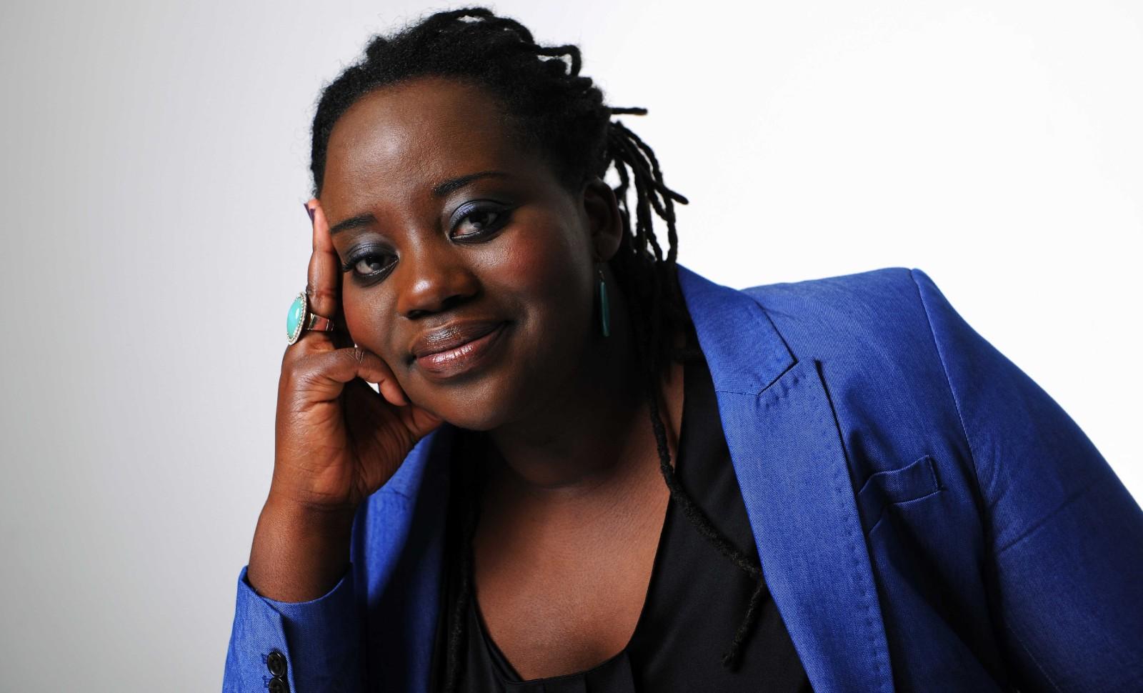 La militante radicale Maboula Soumahoro en 2012 © BALTEL/SIPA Numéro de reportage: 00635163_000038