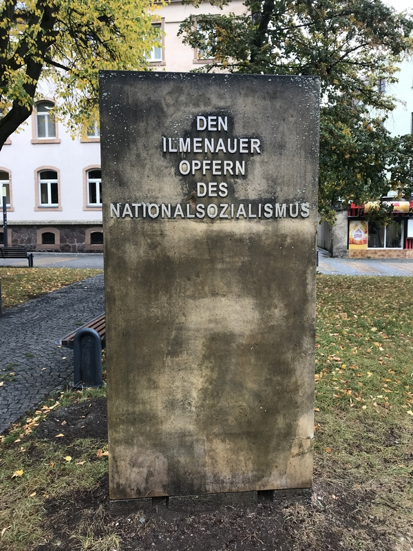 Monument aux victimes du national-socialisme, Ilmenau.