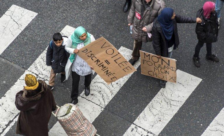 7% des musulmans ont été agressés en raison de leur religion et 34% des juifs