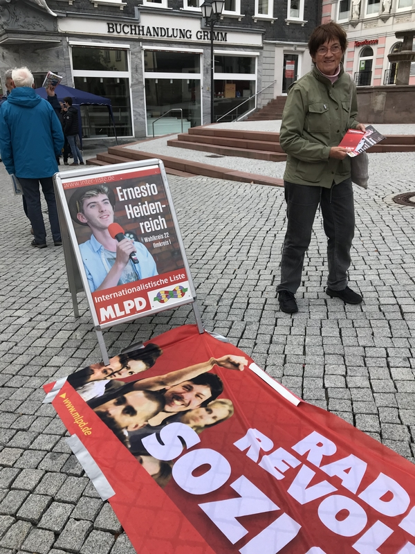 Stand du parti Marxiste-Léniniste à Ilmenau
