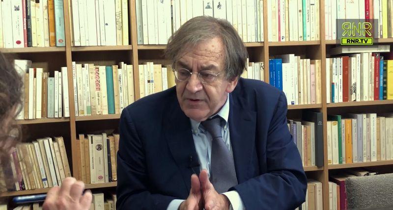 Alain Finkielkraut dans l'Esprit de l'escalier sur RNR.tv