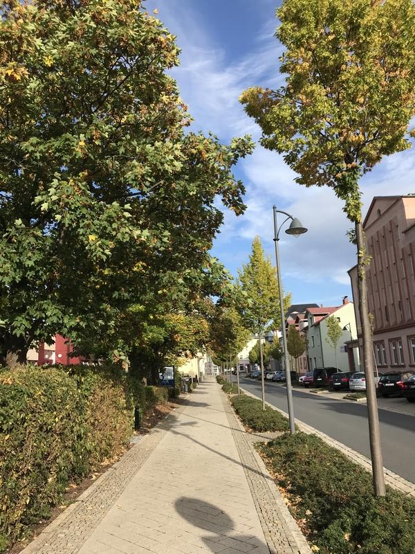 Une rue d'Ilmenau