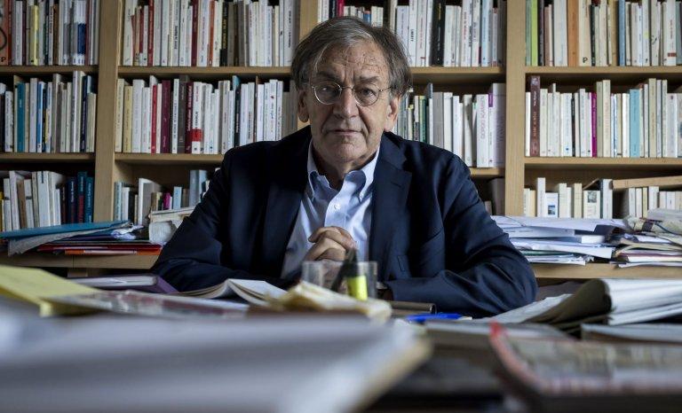 """Alain Finkielkraut : """"le réalisme avide d'Éric Zemmour me met mal à l'aise"""""""