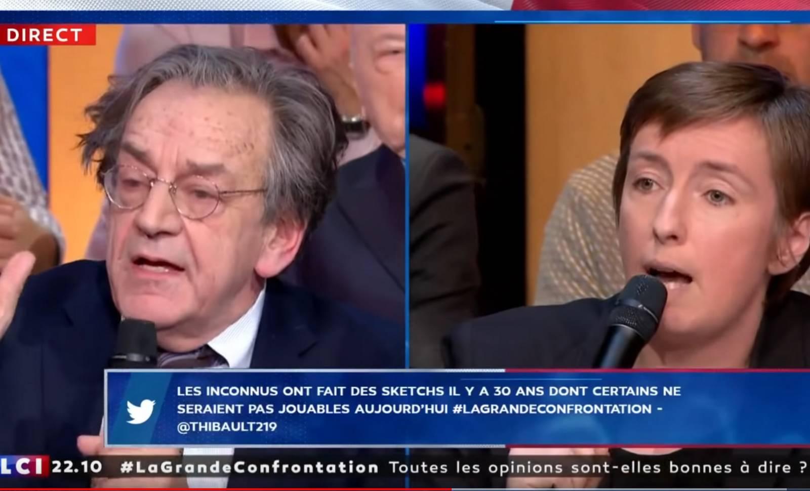 """Capture d'écran Youtube. """"La Grande Confrontation"""" sur LCI, le 13 novembre 2019."""