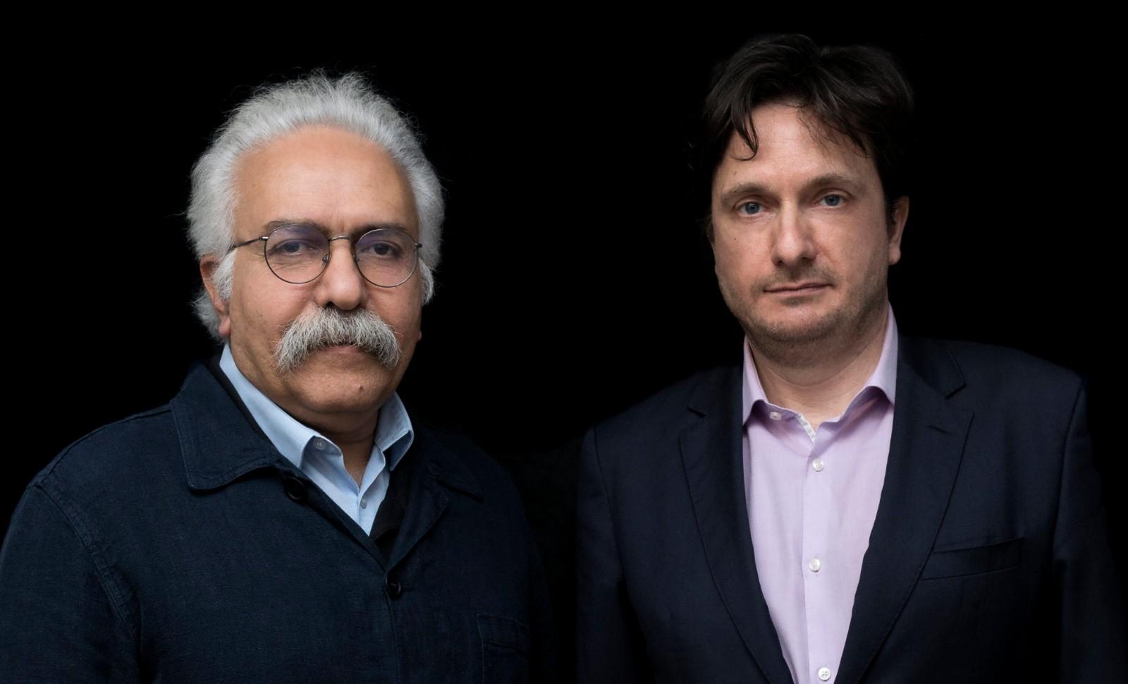 Mohammad Ali Amir-Moezzi et Guillaume Dye Photographe: Hannah Assouline