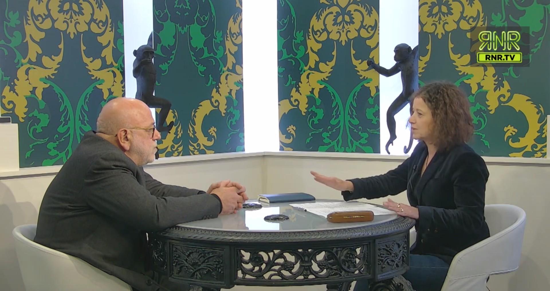 Jean-François Colosimo débat avec Elisabeth Lévy. Image: capture d'écran RNR.TV