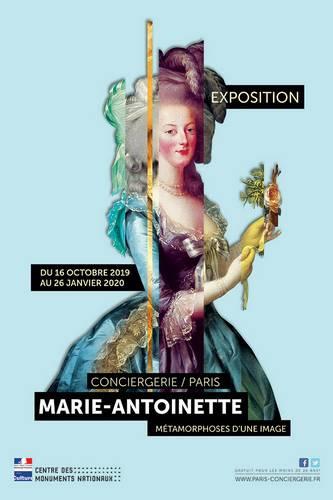 « Marie-Antoinette, métamorphoses d'une image », du 16 octobre 2019 au 26 janvier 2020, Conciergerie, 2, boulevard du Palais, 75001 Paris.