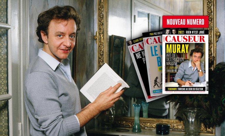 Causeur: Philippe Muray, l'art de destruction massive