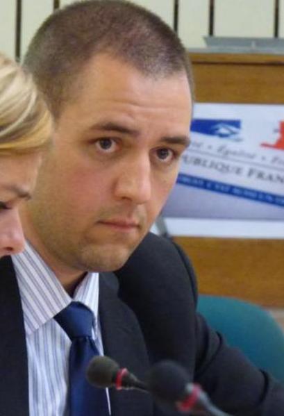 Michel Thooris, secrétaire général de France Police Policiers en colère