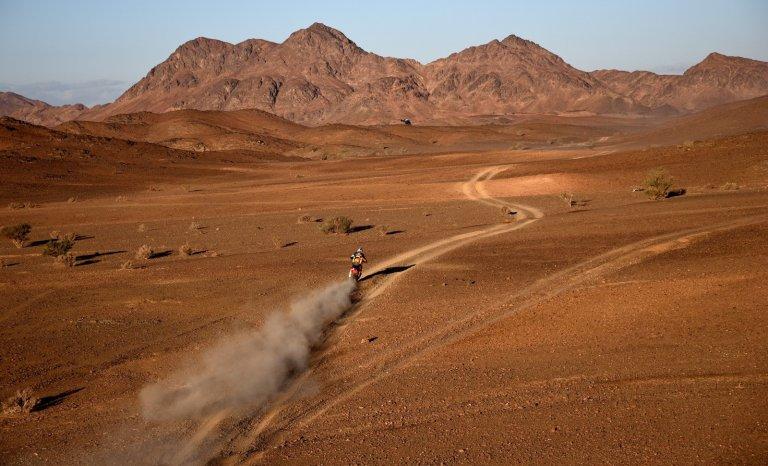 Le Paris-Dakar de MBS: on se tait et on profite du spectacle