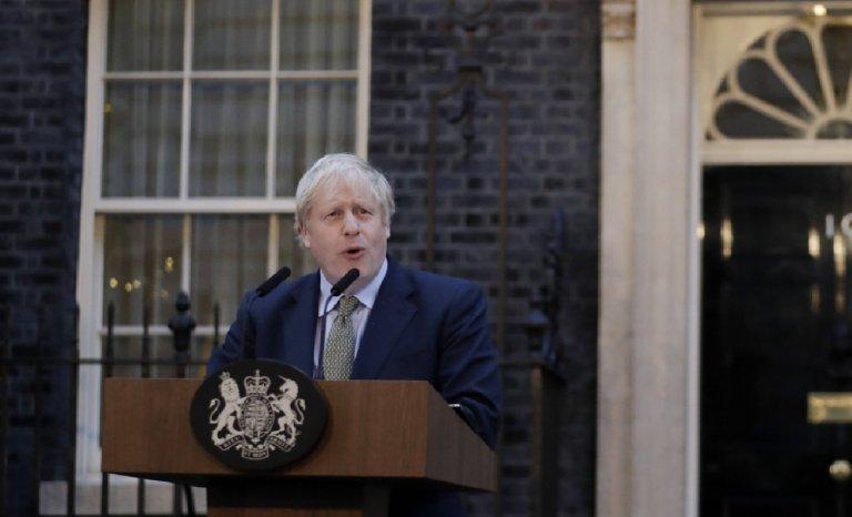 Boris Johnson: le triomphe romain