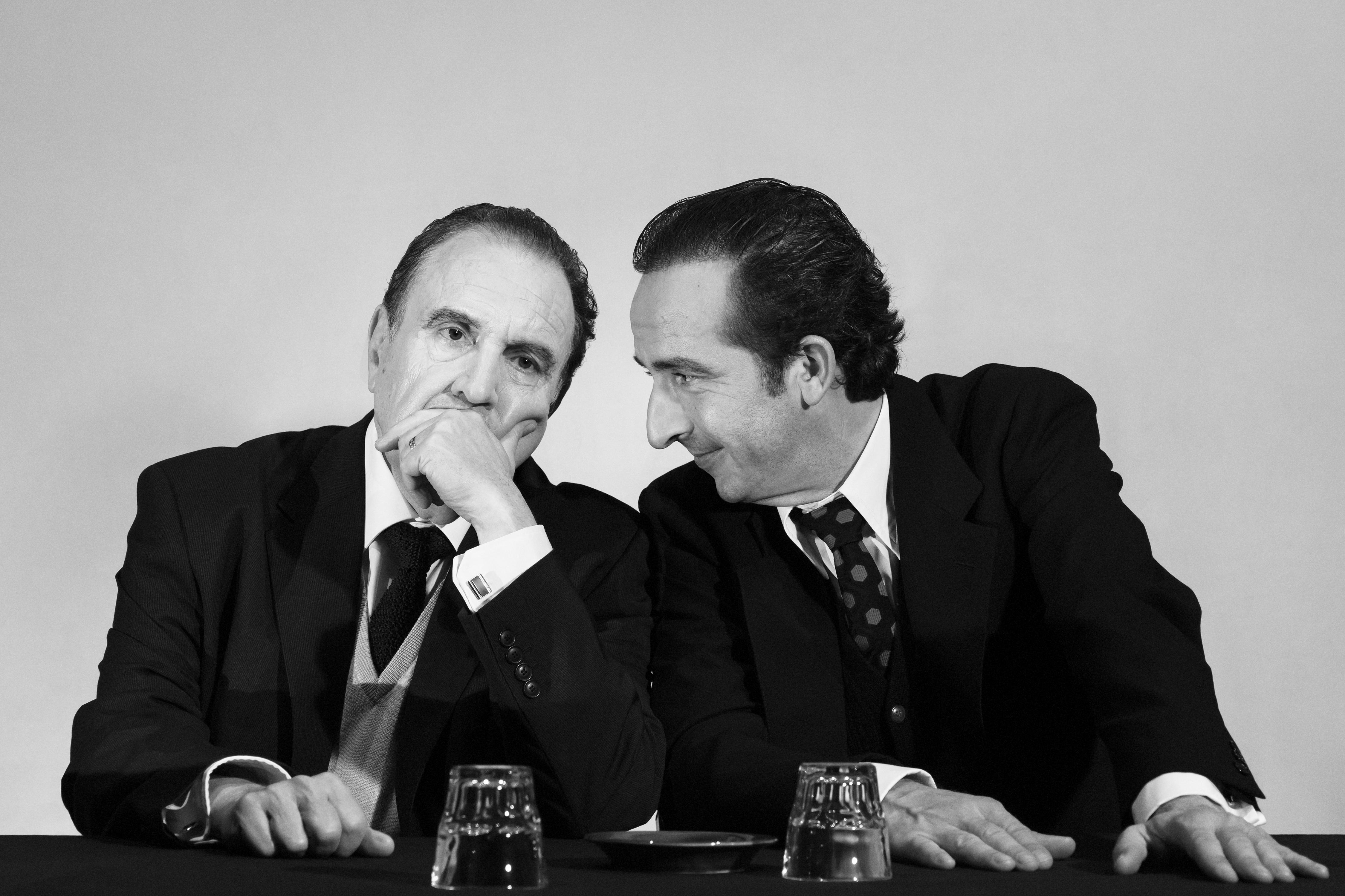 L'Opposition Mitterrand vs Rocard, théâtre de l'Atelier, jusqu'au 5 avril 2020. © Maria Laetizia Piantoni