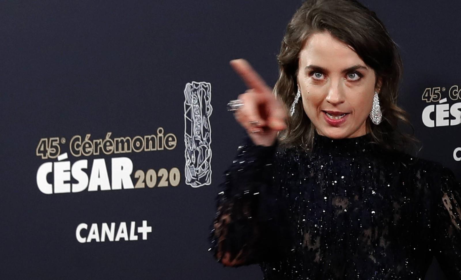 Adèle Haenel, le 28 février 2020 © Christophe Ena/AP/SIPA Numéro de reportage: AP22433421_000006