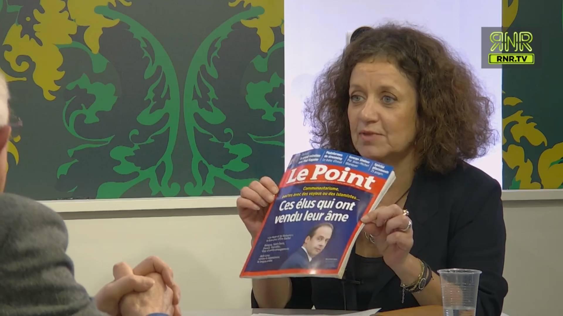 Elisabeth Lévy face à Marcel Gauchet sur REACnROLL. Image: capture d'écran RNR.TV