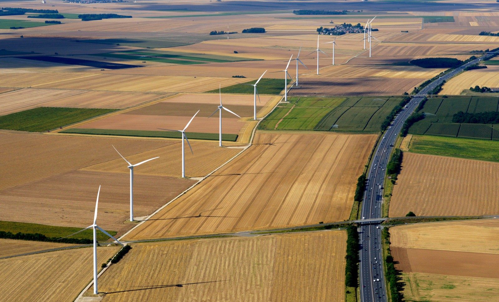 Tronçon de l'autoroute A10, dans l'Eure-et-Loir © AFP