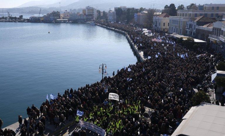 Migrants: grève générale dans les îles grecques