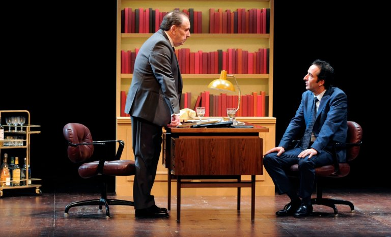 Philippe Magnan et Cyrille Eldin rejouent le duel Mitterrand-Rocard
