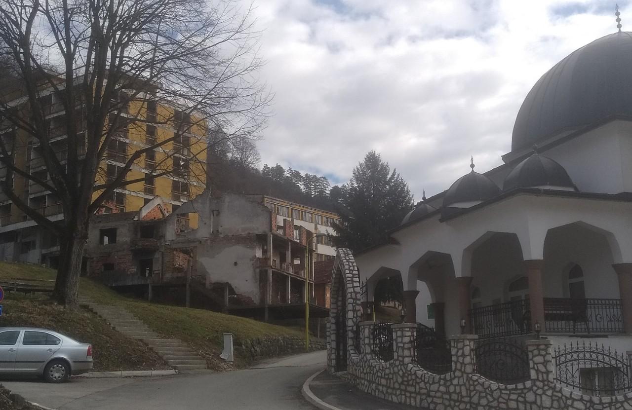 Centre ville de Srebrenica