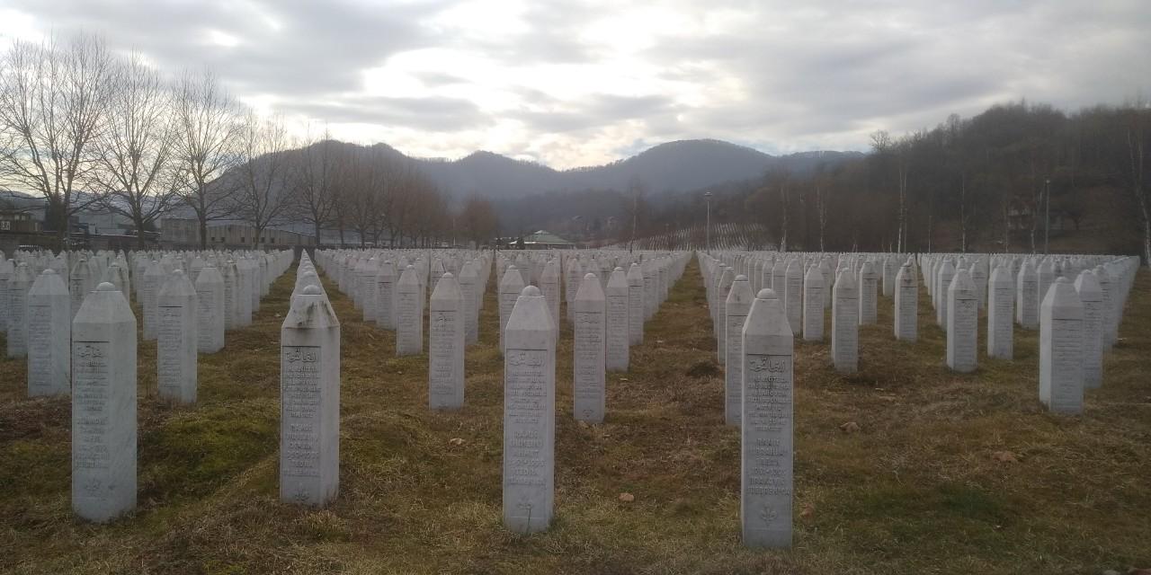 Cimetière du Mémorial de Srebrenica