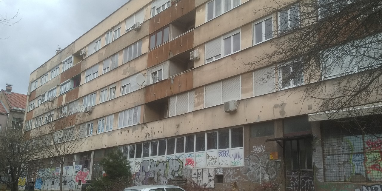 Immeuble de Snajperska Aleja