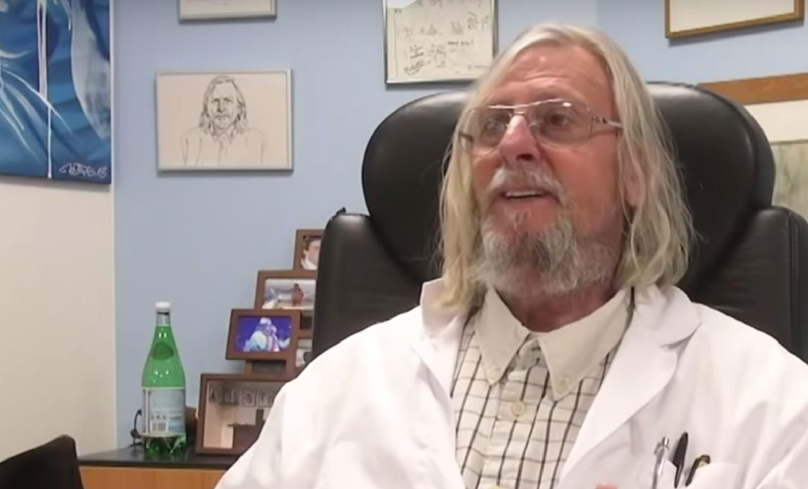 """Le Docteur Raoult, abonné fidèle de la revur britannique """"The Lancet"""" Image: Capture d'écran Youtube"""