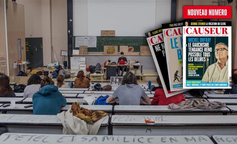 Michel Onfray: «Le gauchisme rend possible tous les délires»