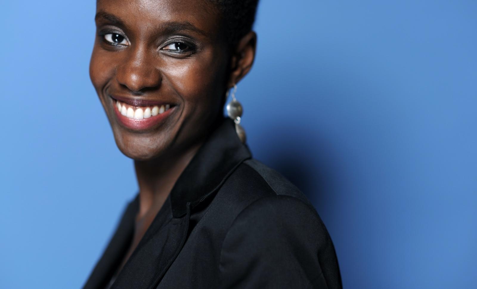 Rokhaya Diallo le 9 octobre 2009. © BALTEL/ SIPA Numéro de reportage : 00953270_000072