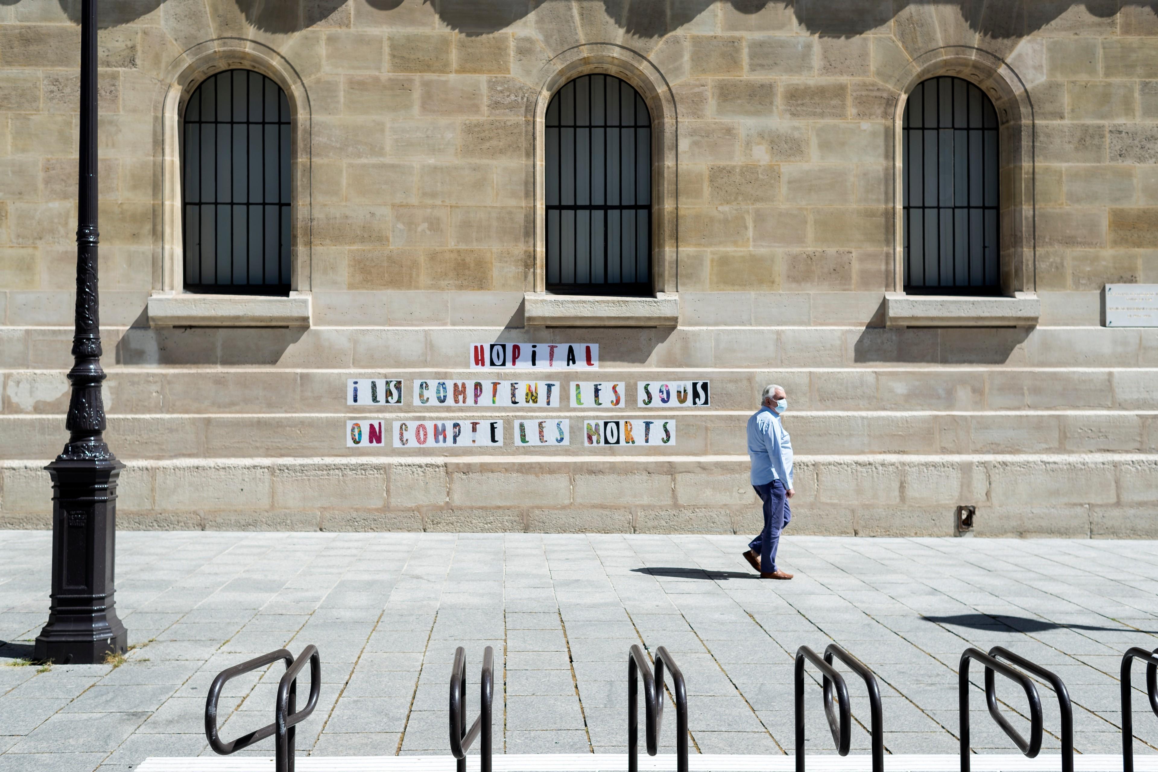 Paris, 1er juin 2020. © Hannah Assouline