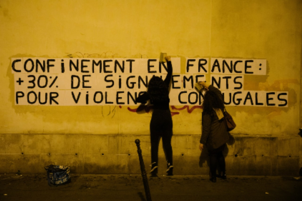Paris, 11 mai 2020 © Marie Magnin / Hans Lucas / AFP