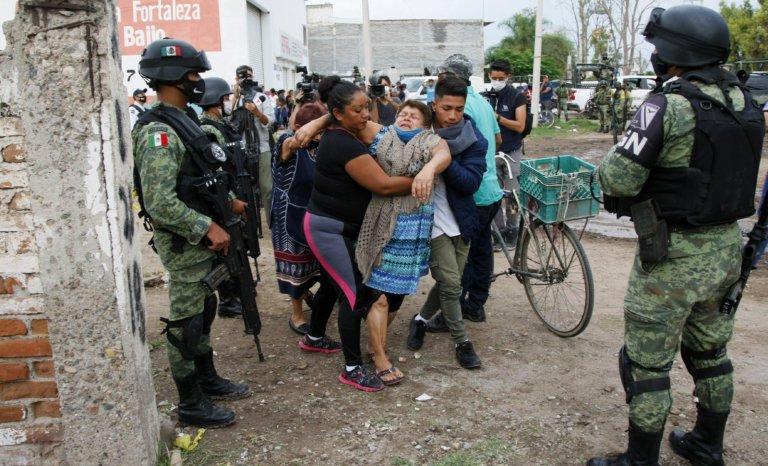 Le centre du Mexique, nouveau champ de guerre du narcotrafic