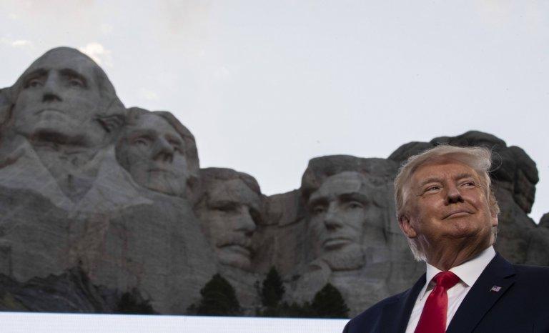 Le discours de Donald Trump au Mont Rushmore