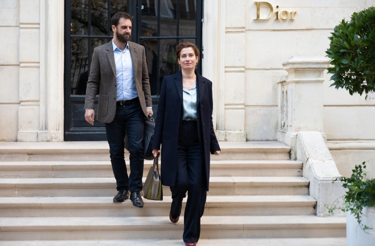 """Emmanuelle DEVOS et Grégory MONTEL dans """"Les parfums"""" de Grégory Magne © Pyramide FIlms"""