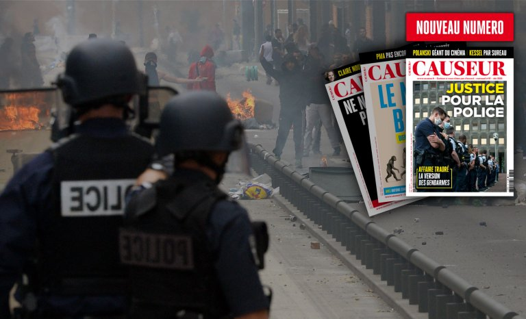 Causeur: justice pour la police!