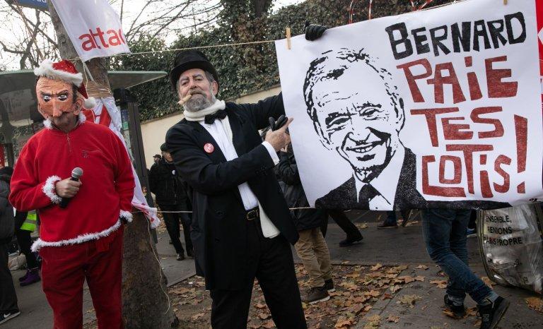 Bernard Arnault, bouc émissaire des Insoumis