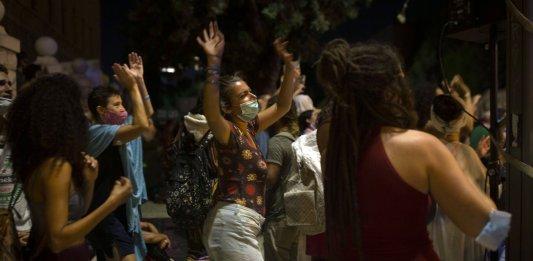 israel netanyahou manifestation covid