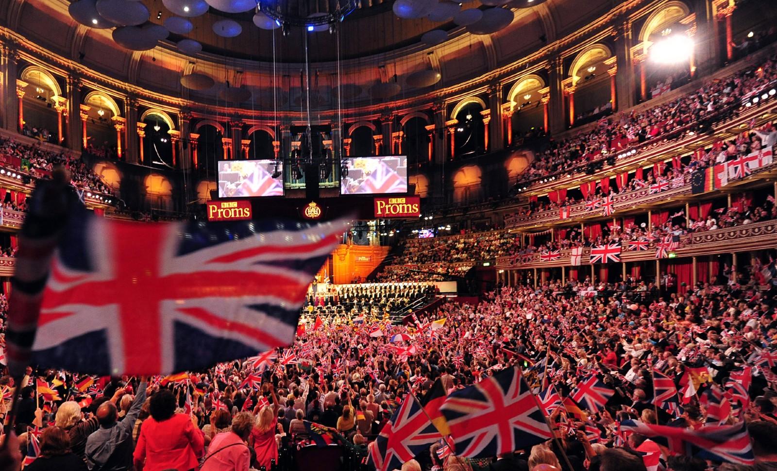 """Les """"Proms"""" au Royal Albert Hall à Londres © CARL COURT / AFP"""