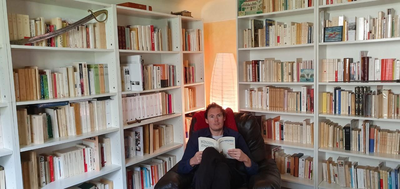 Thomas Clavel et ses livres