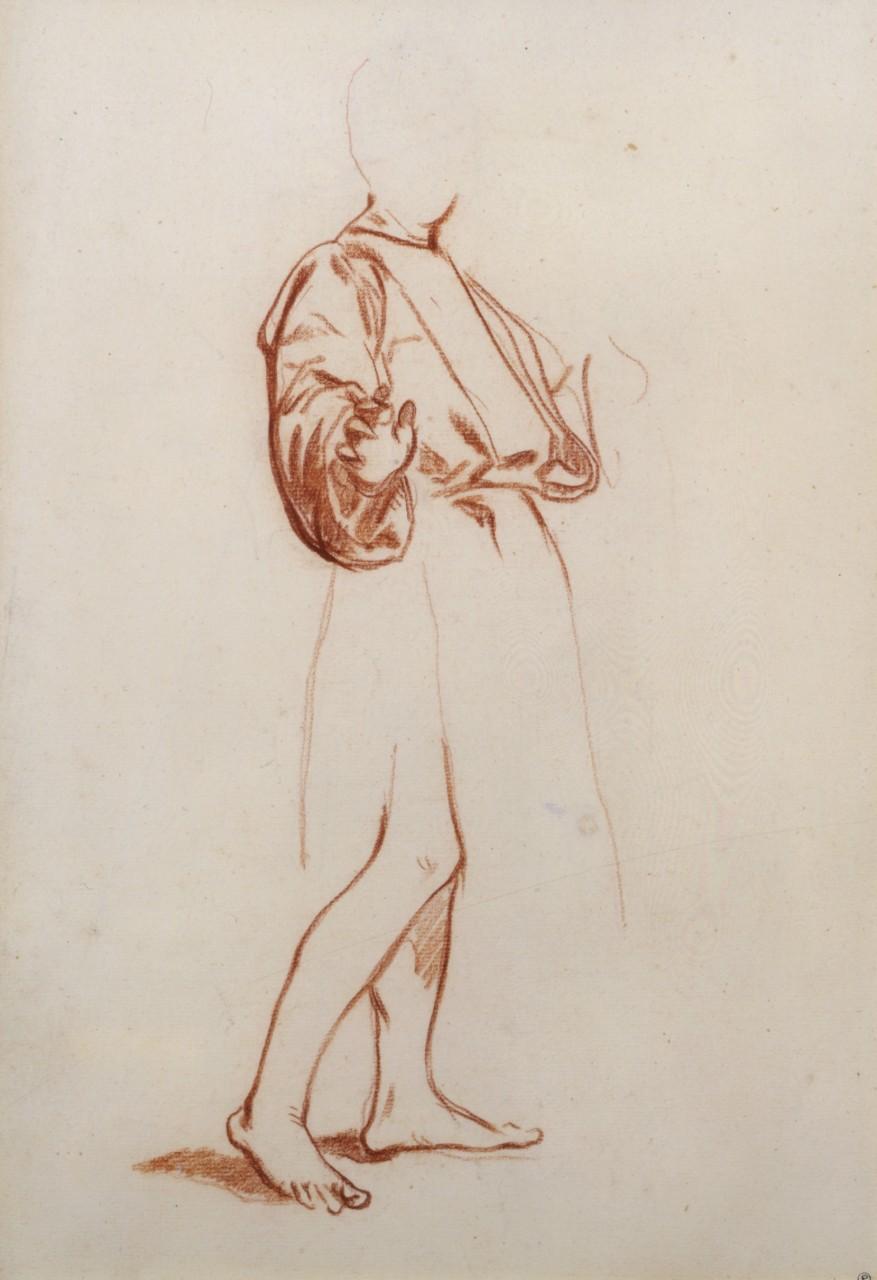 Edouard Manet - Figure debout