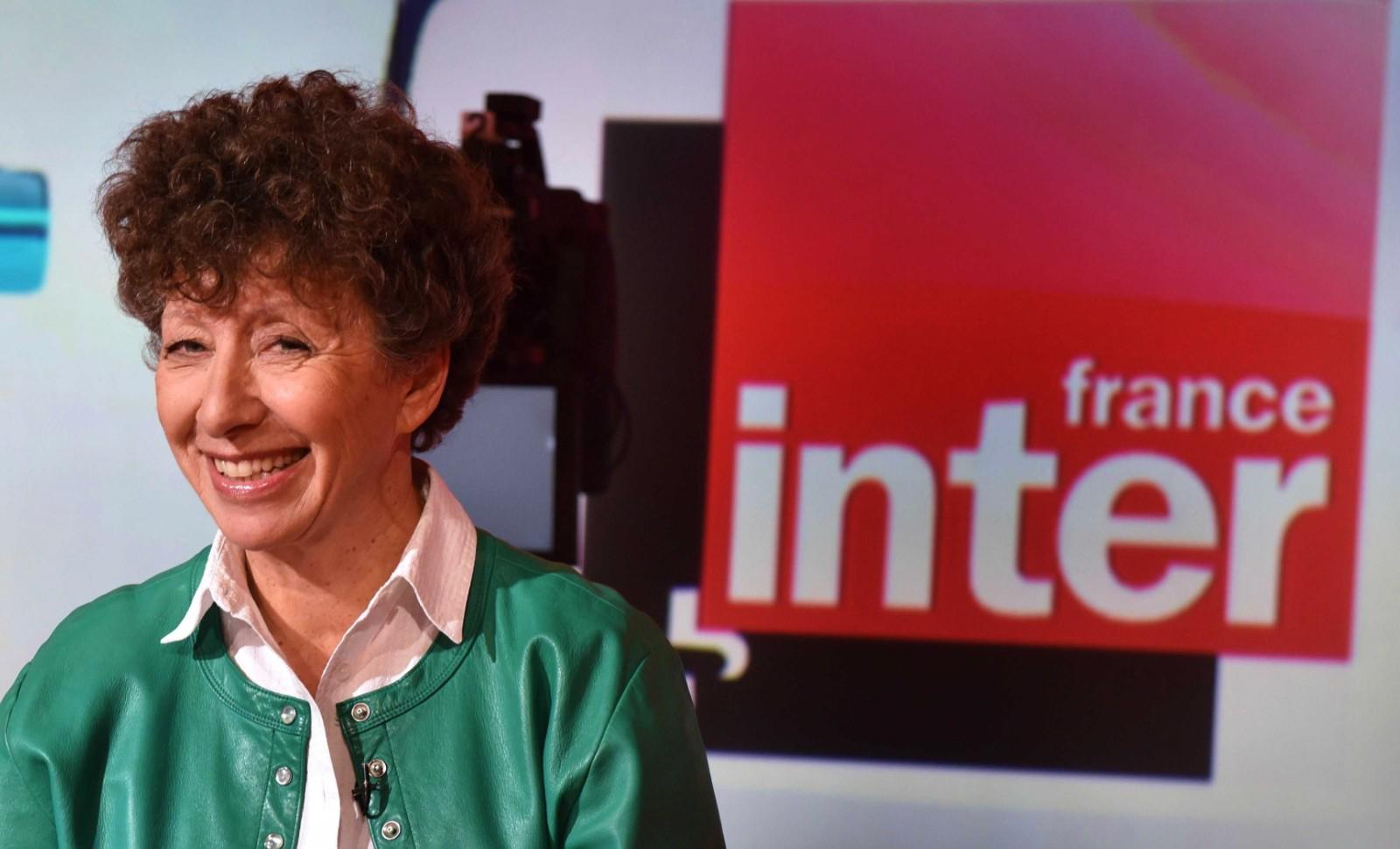 Laurence Bloch, la patronne de la radio publique France inter, à gauche toute! © IBO/SIPA Numéro de reportage : 00733279_000002