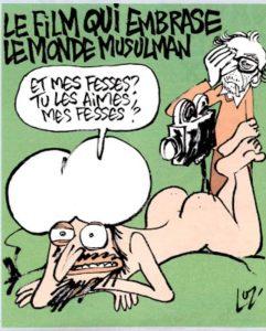 """Dessin de Luz dans """"Charlie Hebdo"""""""