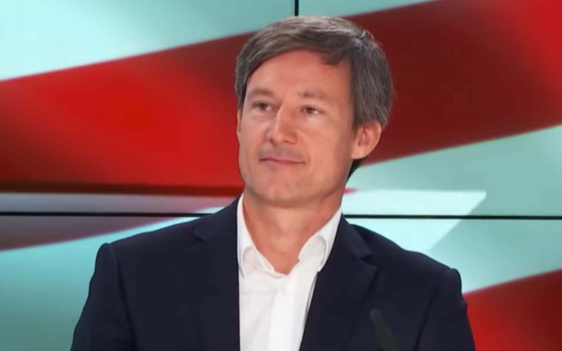 """Drieu Godefridi, auteur de """"La Révolution Trump"""" aux éditions Texquis."""