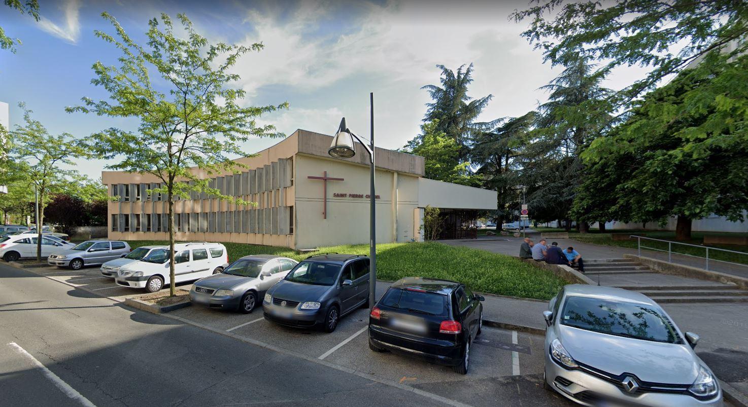 L'église Saint Pierre Chanel. Image: capture d'écran Google Maps.