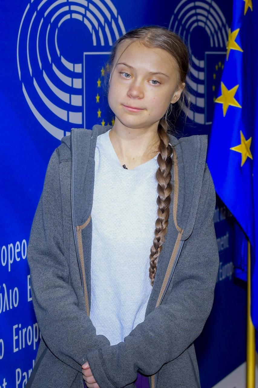 Greta Thuberg à la commission de l'environnement du Parlement européen, 4 mars 2020. © European Union 2020/EP