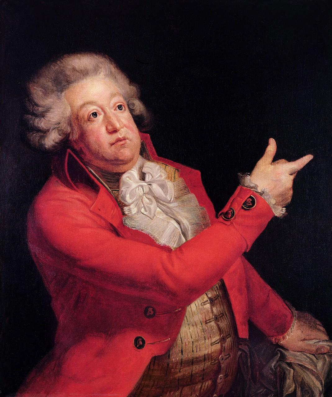 Portrait du marquis de Mirabeau, Jacques André Joseph Aved, 1743. © Bridgeman Images/Leemage