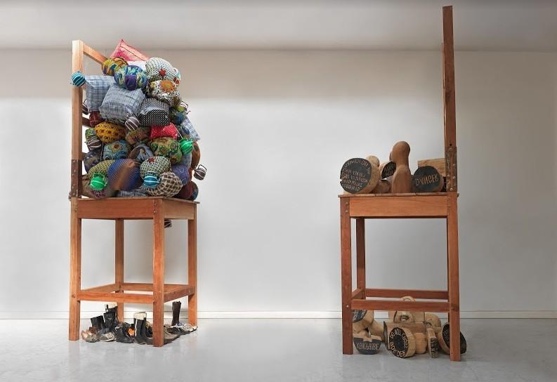 Rédemption, Barthélémy Toguo, 2012-2014 © Centre Pompidou, Paris, Mnam-CCI / ADAGP, Paris, 2020.