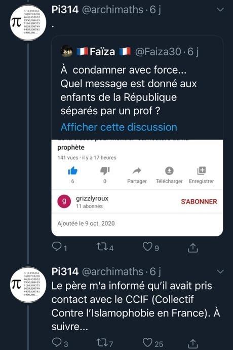 Messages sur Twitter (2/3)