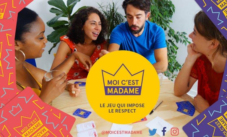 """""""Moi c'est Madame"""", un jeu de cartes pour s'entraîner à répliquer à des situations sexistes"""