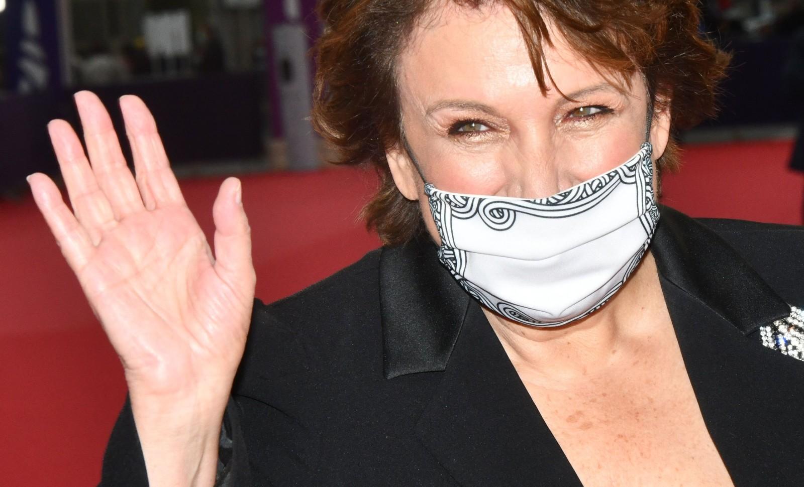 Roselyne Bachelot à Deauville le 4 septembre 2020 © Jacques BENAROCH/SIPA Numéro de reportage: 00979862_000173.
